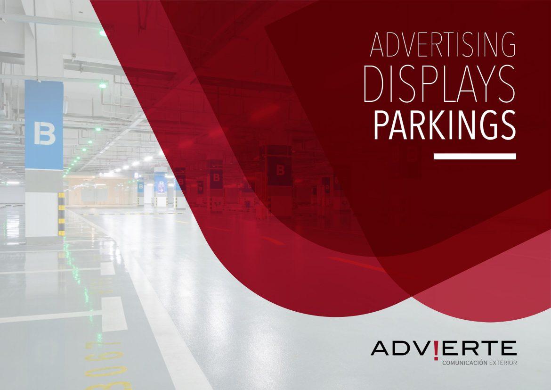 Publicidad en parkings de Marbella y Málaga
