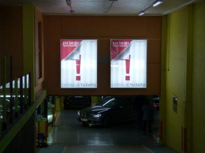 Advierte brinda la posibilidad de pubicita su empresa en Parkings de MArbella.